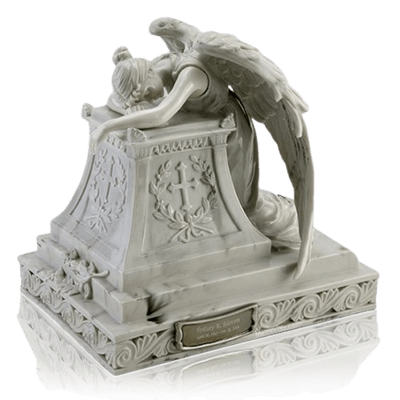 Resting Angel Cremation Urn