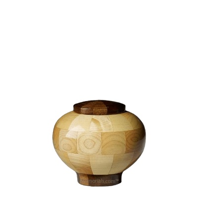 Rioblanco Wood Cremation Urn