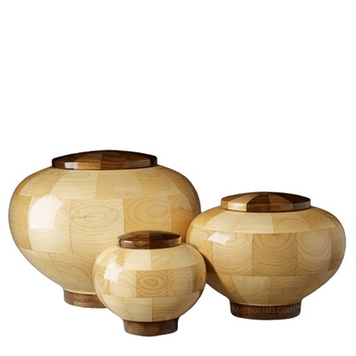 Rioblanco Wood Cremation Urns