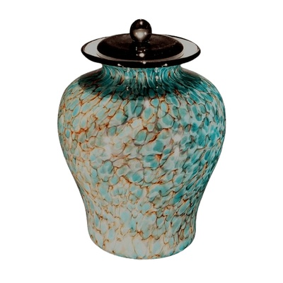 River Glass Companion Funeral Urn