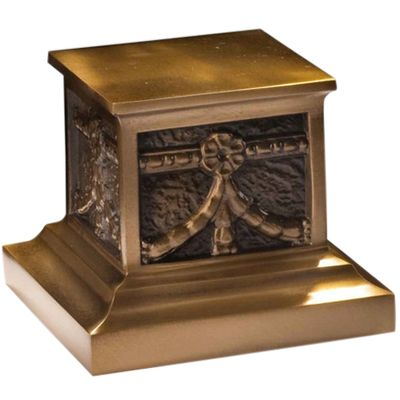 Roman Bronze Pet Urn