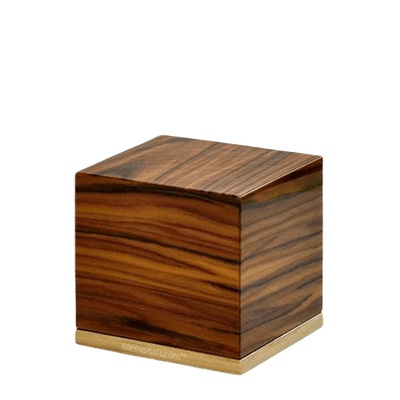 Roots Wood Keepsake Urn