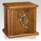 Rosas Wood Cremation Urn