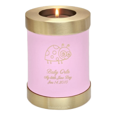 Rose Child Candle Cremation Urns