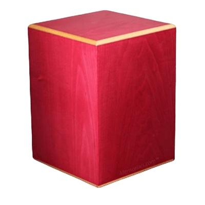Rouge Wood Cremation Urn