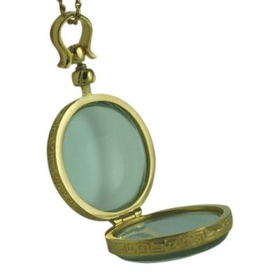 Round Glass Locket Memorial Jewelry II