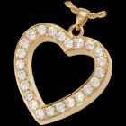 Royal Heart Cremation Pendant II