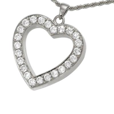 Royal Heart Cremation Pendant