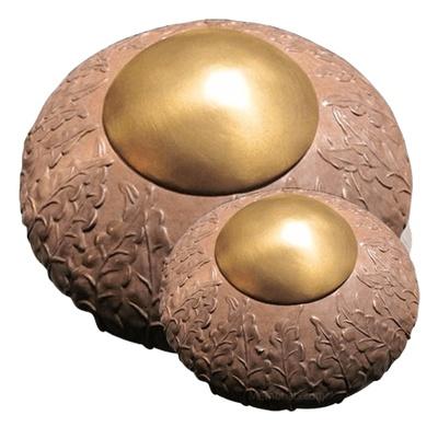 Rustic Ivy Bronze Cremation Urns