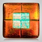 Rusty Red Cremation Ashes Tile