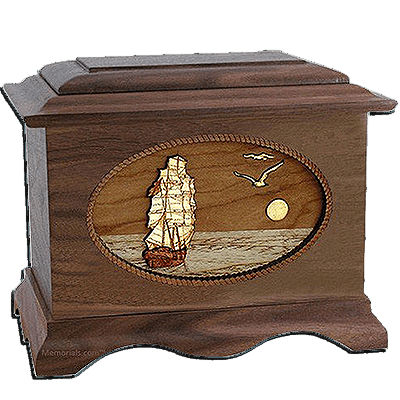 Sailing Home Cremation Urns For Two