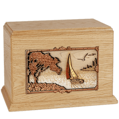 Sailing Maple Companion Urn