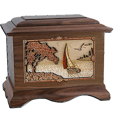 Sailing Cremation Urns For Two
