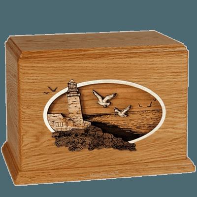 Sea Coast Mahogany Companion Urn