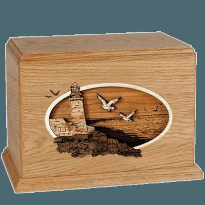 Sea Coast Oak Companion Urn