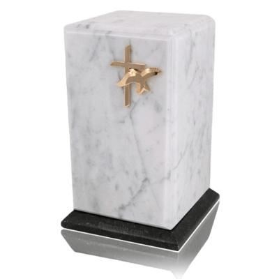 Grande Bianco Marble Urn