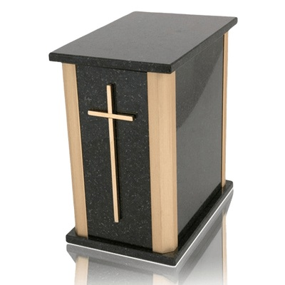 Solitude Cambrian Black Granite Urns