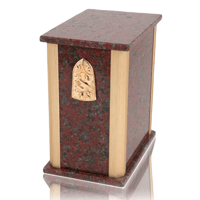 Solitude African Red Granite Urn