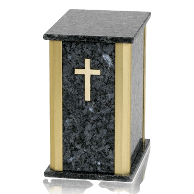 Solitude Blue Pearl Granite Urns