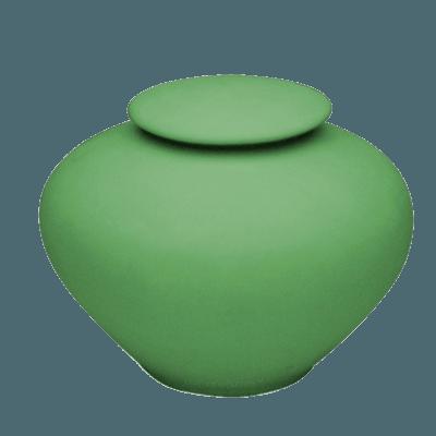 Sage Green Large Porcelain Clay Urn