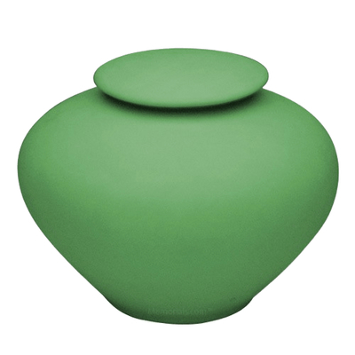 Sage Green Companion Porcelain Clay Urn