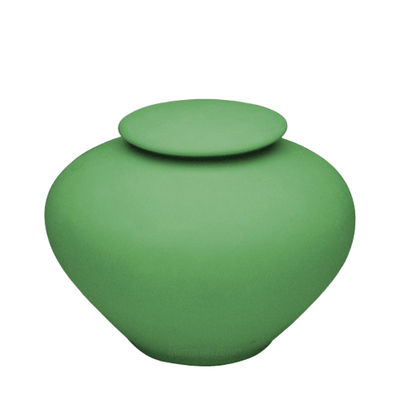 Sage Green Porcelain Clay Urn
