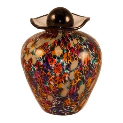 Sahara Glass Pet Cremation Urn