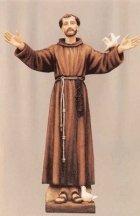 Saint Francis of Assisi Fiberglass Statues