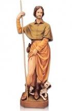 Saint Rocco Con Cane Fiberglass Statues