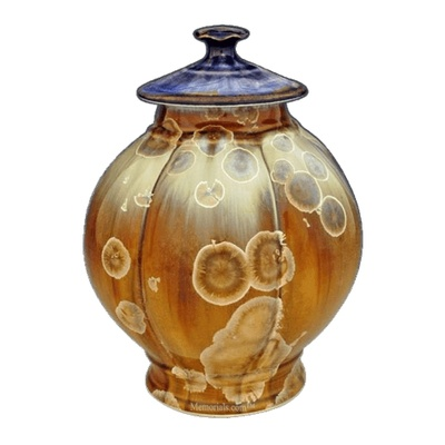 Sand Storm Art Cremation Urn
