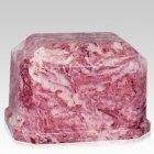 Sangria Prism Marble Cremation Urn