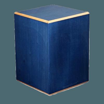 Sapphire Wood Cremation Urn