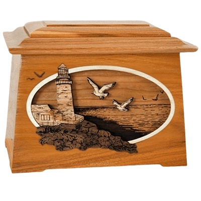 Sea Coast Mahogany Aristocrat Cremation Urn