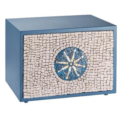 Unique Sea Mosaic Urn