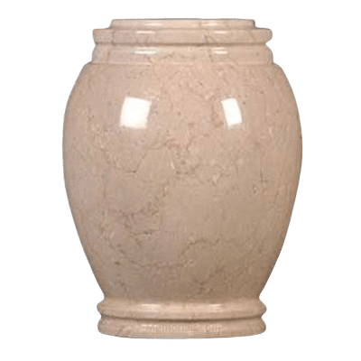 Seashell Traditional Marble Cremation Urn