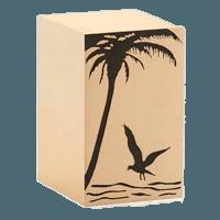 Seaside Bronze Cremation Urn