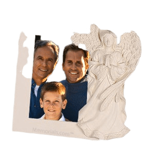 Serene Angel Photo Frame