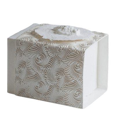 Shell Swirl Small Biodegradable Urn