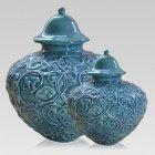 Shoreline Ceramic Cremation Urns