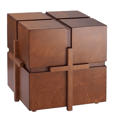 Signe Small Cross Cremation Urn