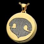 Signet Nose 14k Gold Print Cremation Keepsakes