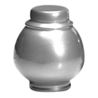 Silver Coronet Pet Cremation Urns