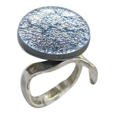Silver Memorial Ashes Ring