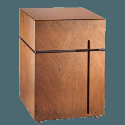 Simplicidad Cross Cremation Urn