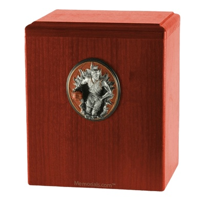 Slam Dunk Cherry Cremation Urn