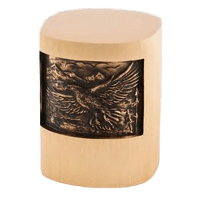 Soaring Eagle Bronze Cremation Urn
