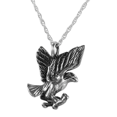 Soaring Eagle Cremation Jewelry