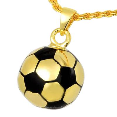Soccer Cremation Pendant II