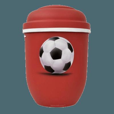 Soccer Biodegradable Urns