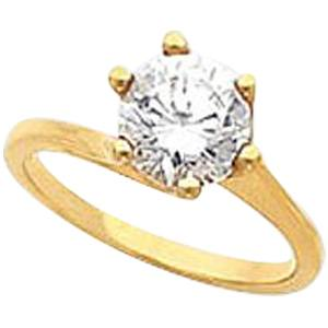 Solitaire 6 Prong Ring
